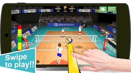 Volleyball Champions 3D – Online Sports Game App Download For Android and iPhone 2