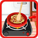Cook game for girl restaurant icon
