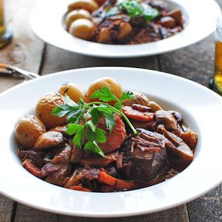 Julia Child's Beef Bourguignon.
