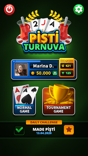 Pisti Tournament - Offline 1.8 1
