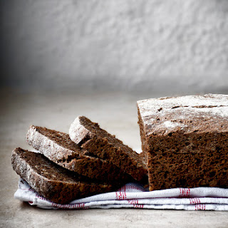 Easy Overnight Dark Rye Bread.