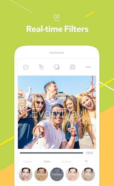 #2. Candy Camera - Selfie Photo (Android)