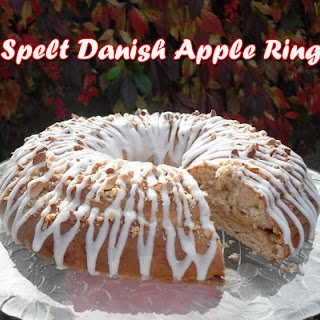 Spelt Danish Apple Ring