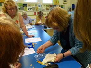 Photo: A goldwork workshop with Carole Holme