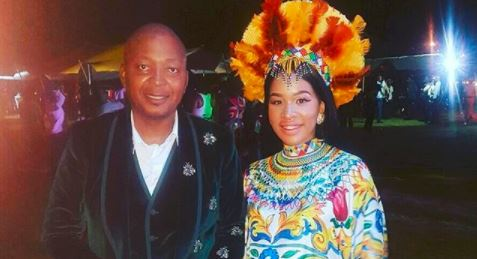 Businessman Kenny Kunene and his wife say they want their son to be a respectful and humble person