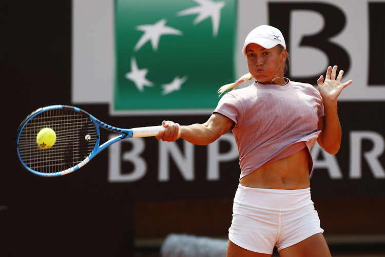 Yulia Putintseva of Kazakhstan has complained about mice in her room during quarantine.