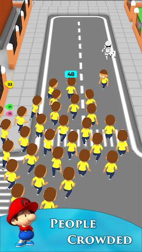 Crowd Run 3D : Multiplayer 3 screenshots 1