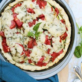 Tomato-Zucchini Pie
