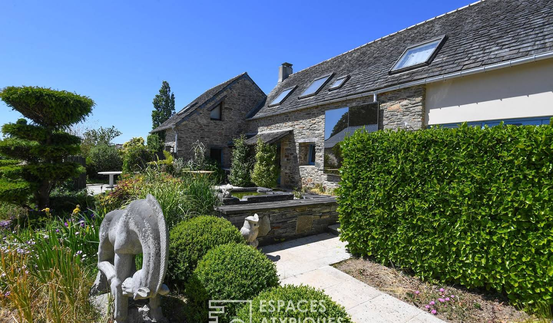 Maison avec piscine et terrasse Morlaix