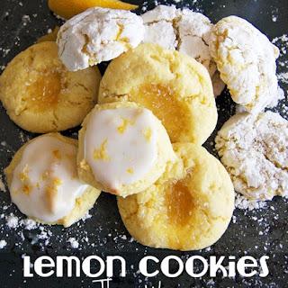 Easy Lemon Clove Cookies