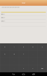 Positional notation converter- screenshot thumbnail