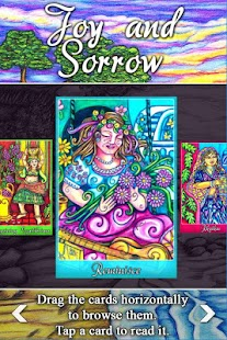 Joy & Sorrow Oracle Cards- screenshot thumbnail