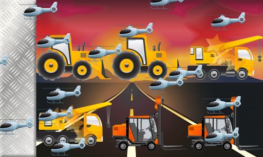 無料教育Appの車子供や幼児のための記憶ゲーム:トラック、車、トラクター 記事Game