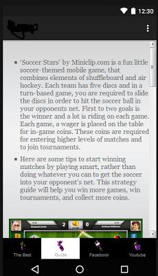 Guide for Soccer Stars - screenshot