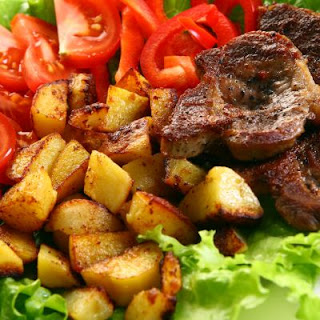 Grilled Steak and Roasted Potatoes Salad