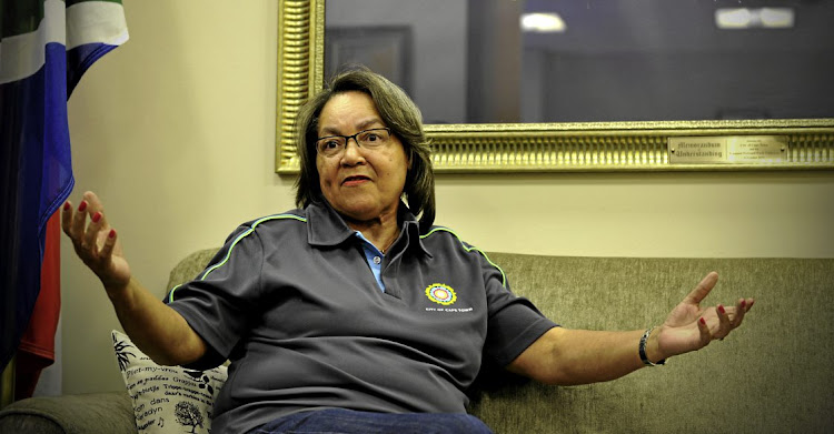 The Cape Town mayor Patricia de Lille. File photo.