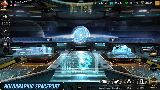 Code Triche Infinite Galaxy - Empire, starcraft, sci fi, mmo APK MOD screenshots 1