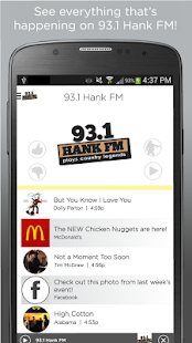 93.1 HankFM- screenshot thumbnail