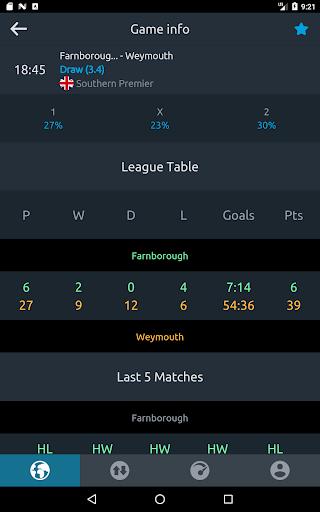 Football Bet Analyser u26bd Predictions, Tips and Odds 3.2.0 Screenshots 18
