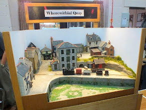 Photo: 022 John Bruce's Wherewithial Quay, showing the whole layout, including the single point and siding! .
