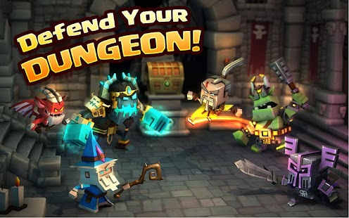 Dungeon Boss Heroes - Fantasy Strategy RPG Screenshot