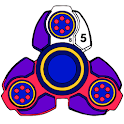 Fidget Spinner Paint by Number: Glitter Color Book icon