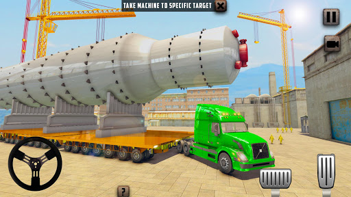 Oversized Load Cargo Truck Simulator 2019 apkpoly screenshots 9