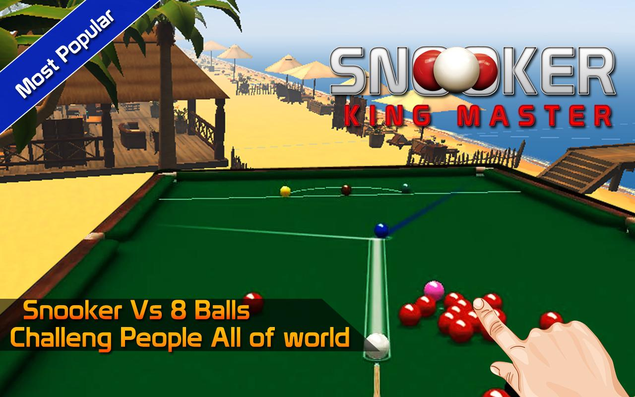 Snooker King Master- screenshot