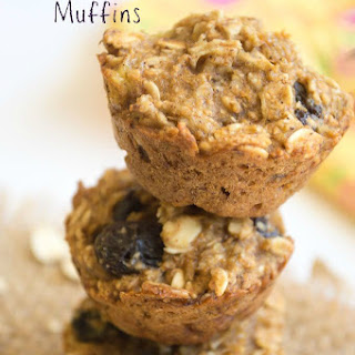 Oatmeal Raisin Muffins.
