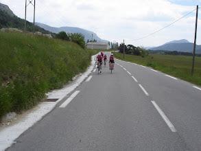 Photo: Flat riding  past Thorenc