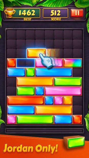 انفجار جوهرة - كتلة لعبة لغز قطرة Android App Screenshot