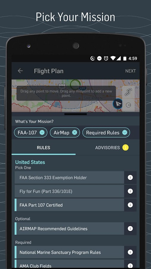 AirMap for Drones- screenshot