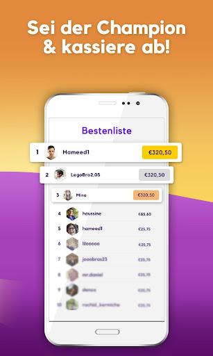 Foxy Quiz - Kostenlos spielen und Geld gewinnen 1.0.8 screenshots 3