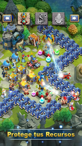 Castle Clash: Epic Empire ES  screenshots 4