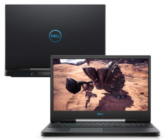 Imagem de um notebook da marca Dell modelo G5 15