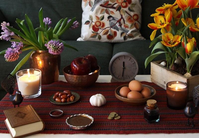 Haftseen (Haft Sin,هفت سین)table , Nowruz 2020