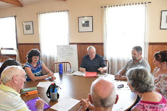 Photo: David Harris workshop 'Poetry for a Folky Audience'