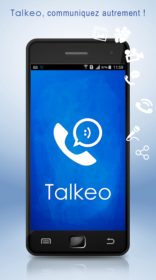 Talkeo- screenshot