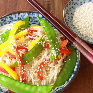 Sesame Noodles in Stir-Fry or Salad
