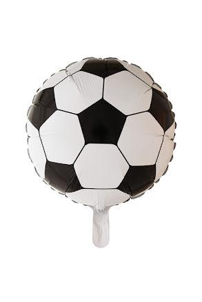 Folieballong, fotboll rund