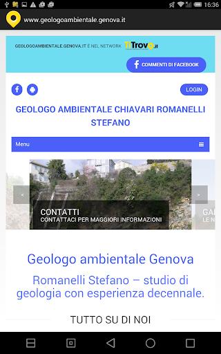 Geologo ambientale Genova