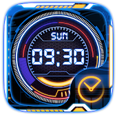 Technology Go Clock Theme