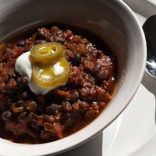 Black Bean and Kielbasa Chili
