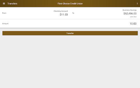First Choice Credit Union screenshot 7