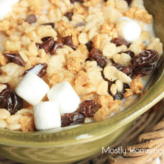 Cereal Trail Mix Recipes.