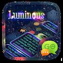 (FREE) GO SMS LUMINOUS THEME icon