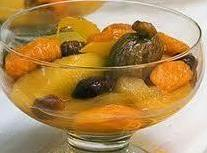 Golden Fruit Compote,  Crock Pot Style Recipe
