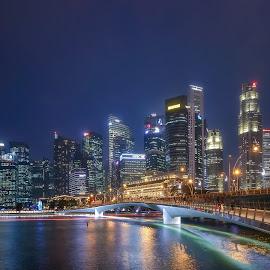 Singapore Skylines by Jimmy Kohar - City,  Street & Park  Skylines