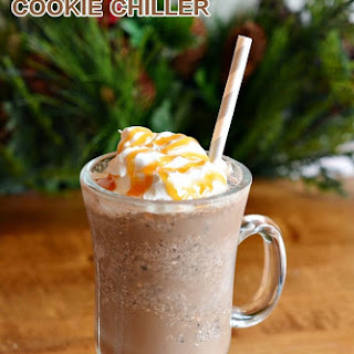 White Chocolate Fudge OREO Cookie Coffee Chiller