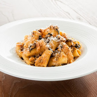 Rigatoni with Vegetable Bolognese Recipe